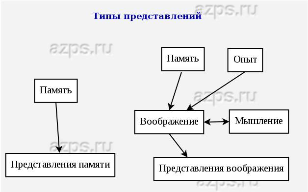 Типы представлений