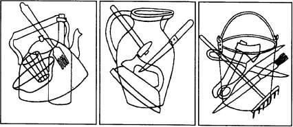 Методике какие предметы спрятаны в рисунках